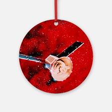 COBE satellite Round Ornament