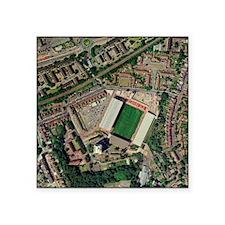 "Charlton Athletic's Valley  Square Sticker 3"" x 3"""