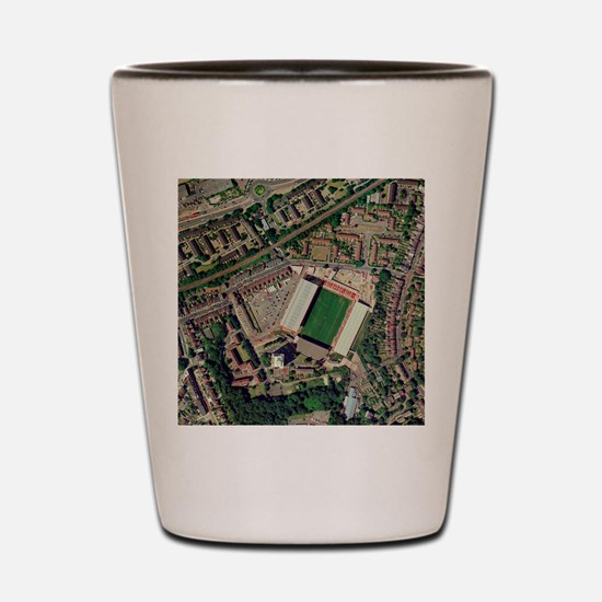 Charlton Athletic's Valley stadium Shot Glass