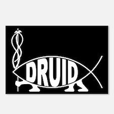 Druid Fish Postcards (Package of 8)