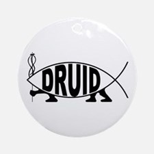 Druid Fish Ornament (Round)