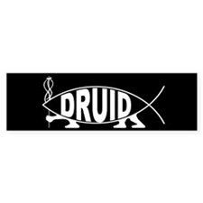 Druid Fish Bumper Bumper Sticker