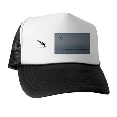 Never doubt you can fly mug Trucker Hat