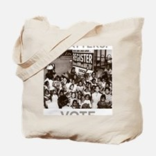 REGISTER AND VOTE! Tote Bag