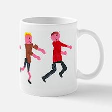 Children running Mug