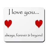Love forever Classic Mousepad