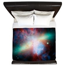 Cigar galaxy (M82), composite image King Duvet
