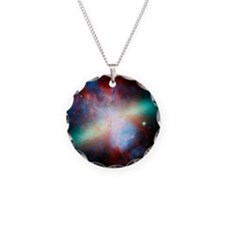 Cigar galaxy (M82), composit Necklace
