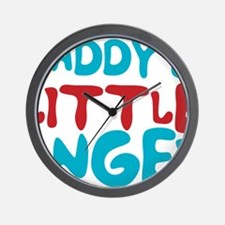Daddy's Little Angel Wall Clock