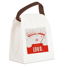 Loud! (Baby & Toddler Tee) Canvas Lunch Bag