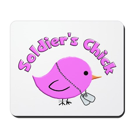Soldier's Chick Mousepad