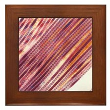 Collagen fibres Framed Tile