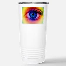 Colour vision: spectrum of ligh Travel Mug