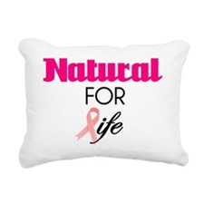 Breast Cancer Natural Su Rectangular Canvas Pillow