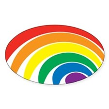 Funky Rainbow Decal