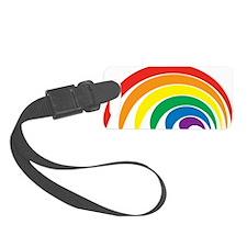 Funky Rainbow Luggage Tag