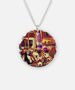 Carousel Horses Necklace