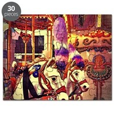 Carousel Horses Puzzle