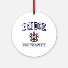 BRIDGE University Ornament (Round)