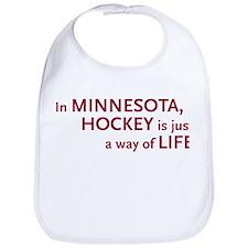 Minnesota Hockey Bib