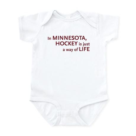 Minnesota Hockey Infant Bodysuit
