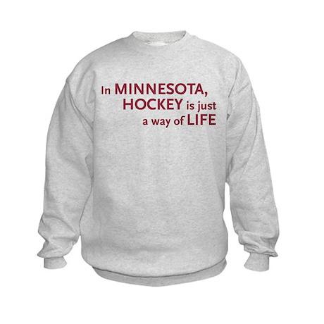Minnesota Hockey Kids Sweatshirt