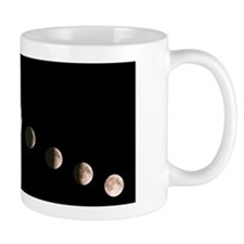 Composite image of the phases of the Mo Mug
