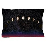 Moon phases Pillow Cases