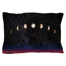 Composite time-lapse image of the luna Pillow Case