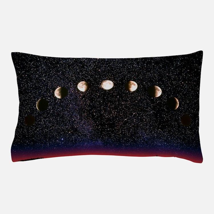 Composite time-lapse image of the luna Pillow Case