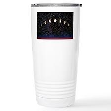 Composite time-lapse image of t Travel Mug