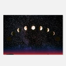 Composite time-lapse imag Postcards (Package of 8)