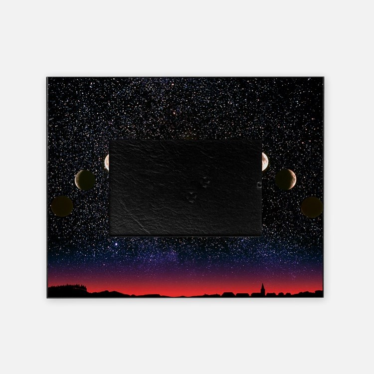 Composite time-lapse image of the lu Picture Frame