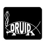 Druid Fish Mousepad