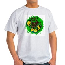 Coloured TEM of a basophil white blo T-Shirt