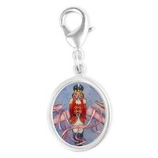The Nutcracker Silver Oval Charm