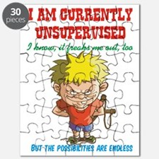 Currently unsupervised Puzzle