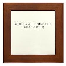 Bracelet? Framed Tile