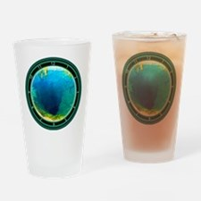 Morning Glory Pool Yellowstone Drinking Glass