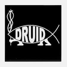 Druid Fish Tile Coaster