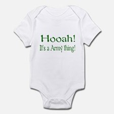 hooah kids and baby Infant Bodysuit