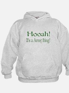 hooah kids and baby Hoodie