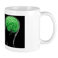 Communication, conceptual image Mug