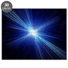 Computer artwork depicting the Big Bang exp Puzzle