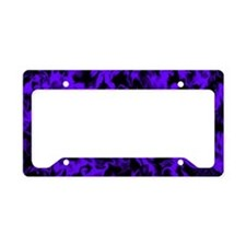 Bright Purple License Plate Holder