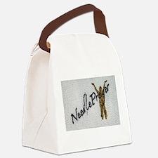 NeedlePrayer Canvas Lunch Bag