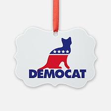 Democat Ornament