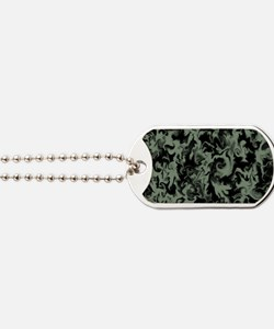 Olive Green Dog Tags