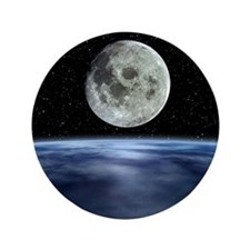"""Computer artwork of full Moon over Ear 3.5"""" Button"""