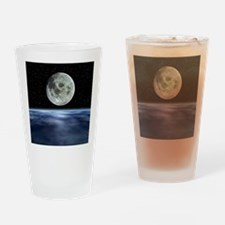Computer artwork of full Moon over  Drinking Glass